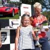 Tjejpriset - Kvinnliga utställare + Publikens val: Marcos GT V6 1971