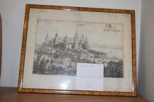 358. Kopparstick Läckö Slott