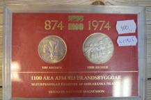 1825. Isländska silverpenningar