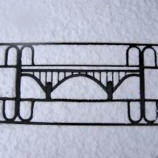 Karl den XIII:s bro Älvkarleby (Fönstergaller)
