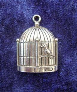 Charms Fågelbur Bird cage - Charms Fågelbur Bird cage
