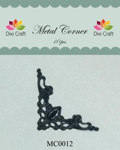 Dixi craft metallhörn välj färg vit, svart - Metallhörn svart