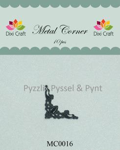 Dixi Craft metallhörn välj silver, brons, vit, svart - Metallhörn svart