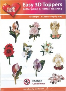 Easy 3D utstansat - Blommor - Easy 3D utstansat - Blommor