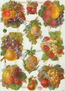 Bokmärke Frukter - Bokmärke Frukter