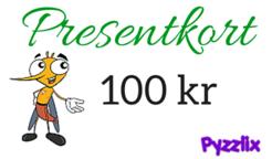 Presentkort 100 kr på Pyzzlix