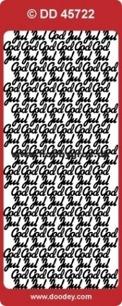 Doodey Stickers - God Jul, guld el silver - Stickers - God Jul, guld