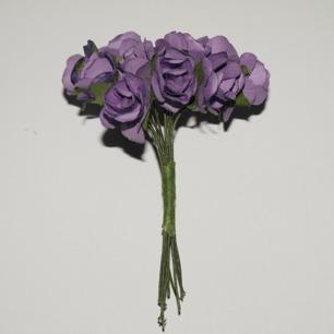 Blommor Lila rosor, 15 mm - Blommor Lila rosor, 15 mm