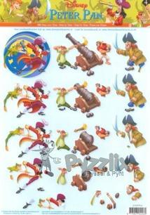 Disney 3D klippark - Peter Pan - Disney 3D klippark - Peter Pan