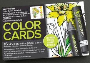 Chameleon Color Card 10x15 – Flowers - Chameleon Color Card 10x15 – Flowers