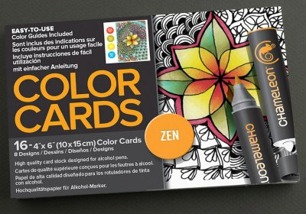 Chameleon Color Card 10x15 – Zen - Chameleon Color Card 10x15 – Zen