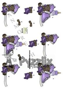 Dan design 3D Klippark - Barnmotiv, lila - 3D Dan design Klippark - Dan design 3D Klippark - Barnmotiv, lilaBarnmotiv, lila