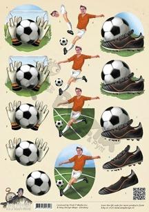 Amy Design 3D Klippark - Fotboll - Amy Design 3D Klippark - Fotboll