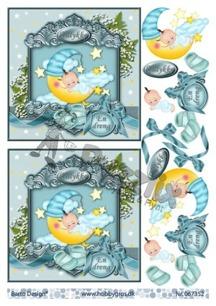 Barto Design 3D klippark - Babymotiv, pojke - Barto Design 3D klippark - Babymotiv, pojke