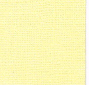 Cardstock Canvas - Pale yellow - Cardstock Canvas Pale yellow