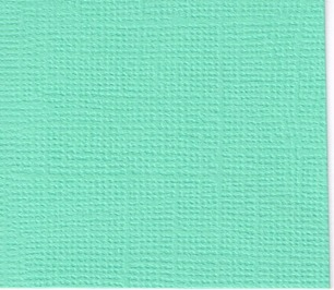 Cardstock Canvas - Auga mint - Cardstock Canvas Aqua mint