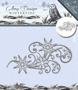 Amy design Dies - Wintertide Ice Crystal Swirl - Amy design Dies - Wintertide Ice Crystal Swirl