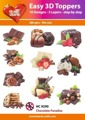 Easy 3D utstansat - Chocolate Paradise