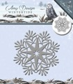 Amy design Dies - Wintertide Ice Crystal