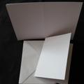 Kortbas & kuvert 240 g 5 st