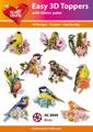 Easy 3D utstansat - Birds