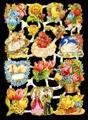 Bokmärke - Blommor