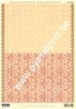 Papper Backing paper Art Nouveau orange, 100g