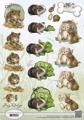 Amy design 3D klippark - Animals medley