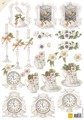 Marianne Design 3D klippark - Ur- och blommotiv