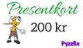 Pyzzlix Presentkort 200 kr