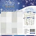 Precious Marieke pappersblock Winter Wonderland