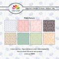 Dixi Craft Pappersblock - Wild Flowers 120 gr