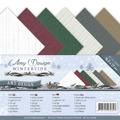 Amy Design - Pappersblock - A5 - Wintertide