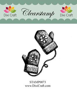 Dixi Craft - Clearstamp - Vantar - Dixi Craft - Clearstamp - Vantar