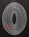 Gummiapan Dies - Stitched Ovals
