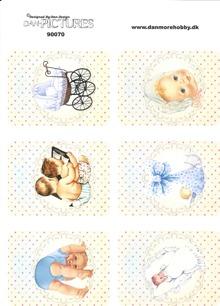 Dan design Klippark - Babymotiv, pojke - Dan design Klippark - Babymotiv, pojke