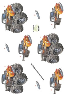 Dan design 3D Klippark - Monstertruck - Dan design 3D Klippark - Monstertruck