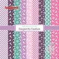 ScrapBerrys Pappersblock - Elegantly Festive Set 6x6 - 24sheets