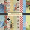 ScrapBerrys Pappersblock - The Pirates Treasure Set 6x6 - 24sheets