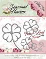 Precious Marieke Dies - Seasonal Flowers - Four Leaf Clover