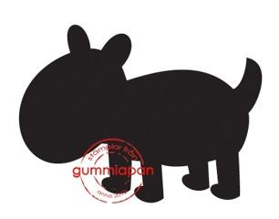 Gummiapan Stämpel - Hund - Gummiapan Stämpel - Hund