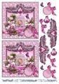 Barto Design 3D Klippark - Fågel i bur, rosa