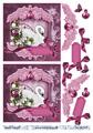 Barto Design 3D Klippark - Svan, rosa
