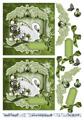 Barto Design 3D Klippark - Svan, grön