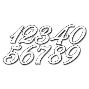 Rox stamps Dies - Numbers - Roxstamps Dies - Numbers
