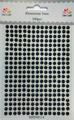 Dixi Craft - Rhinestone, 5 mm - Svarta
