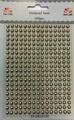 Dixi Craft - Rhinestone, 5 mm - Guld