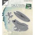 Joy Crafts Dies - Frogs & Waterlily