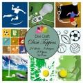 Dixi Toppers - Sportmotiv 2, färg