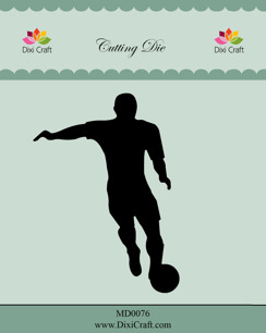 Dixi Craft Dies - Fotbollsspelare - Dixi Craft Dies - Fotbollsspelare